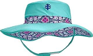 Coolibar UPF 50+ Baby Frankie Reversible Beach Bucket Hat - Sun Protective