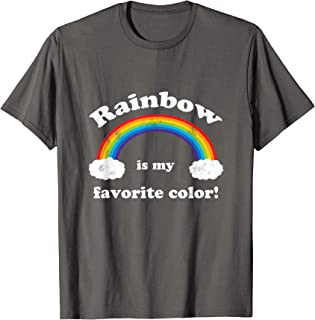 rainbow is my favorite color shirt