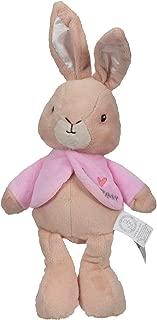 KIDS PREFERRED Peter Rabbit Flopsy Beanbag Stuffed Animal Plush Bunny, 9 Inches