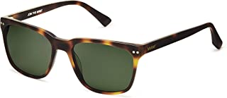 MVMT Ritual | Polarized Square Men's Sunglasses | 55 mm