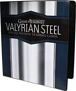 Game of Thrones Valyrian Steel Special Edition Trading Cards Binder