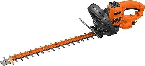 Black & Decker BEHTS451-QS heggenschaar, bekabeld, transparant, ergonomie en balans 50 cm zwart.