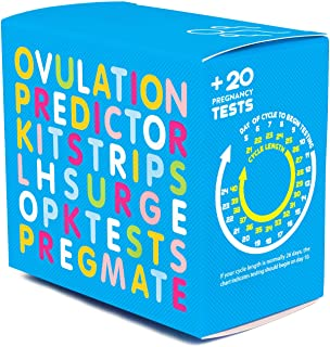 PREGMATE 50 Ovulation and 20 Pregnancy Test Strips Predictor Kit (50 LH + 20 HCG)