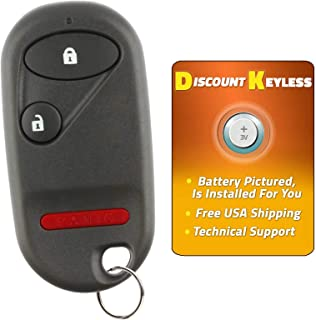 Discount Keyless Replacement Key Fob Car Entry Remote For Honda CR-V Element Civic SI OUCG8D-344H-A
