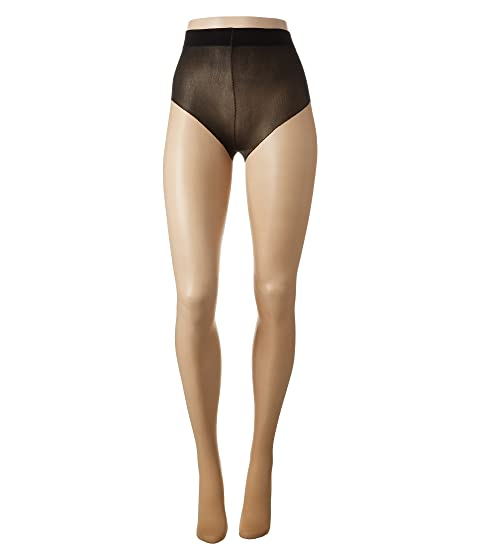 PRETTY POLLY Back Seam Design Tights, Nude/Black