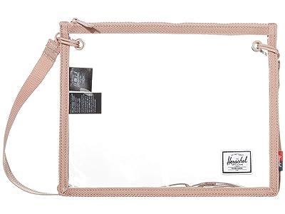 Herschel Supply Co. Alder (Ash Rose/Clear) Cross Body Handbags