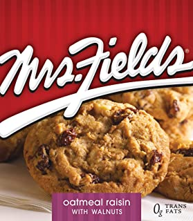 Mrs. Fields Oatmeal Raisin with Walnuts Cookies, 12 count(2.1 oz per unit)