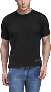 Scott International AWG - All Weather Gear Men's Polyester Round Neck T-Shirt - Black