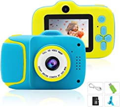 $39 » Kids Camera, Best Birthday Boys for Girls Age 3-9, HD Digital Video Cameras for Toddler, Portable Toy for 3 4 5 6 7 8 9 Ye...