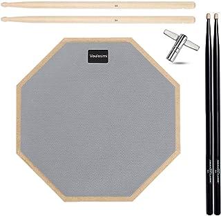 ドラム トレーニング 練習用 パッド 高弾 静音 ラバー 製