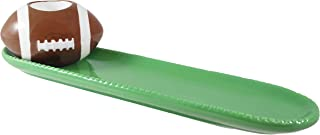 Football Toothpick Holder & Serving Tray Set