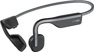 Aftershokz AS660SG OpenMove Open-Ear Wireless Waterproof Bone Conduction Headphone, Slate Grey