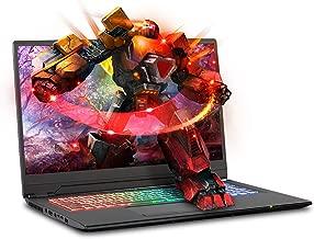 Sager NP8978 0.78 Inches Thin & Light Gaming Laptop, 17.3 Inches FHD 144Hz Thin Bezel Display, Intel Core i7-9750H, NVIDIA RTX 2080 8GB DDR6, 32GB 3000MHz RAM, 500GB NVMe SSD + 2TB SSHD, Windows 10