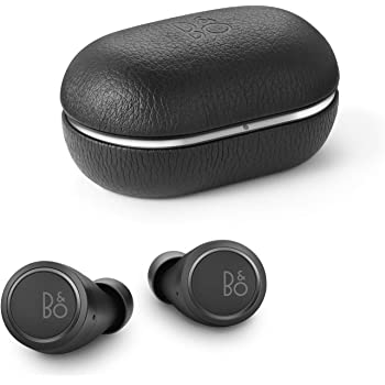 Bang & Olufsen Beoplay E8 3rd Generation True Wireless in-Ear Bluetooth Earphones, with Microphones and Touch Control, Wireless Charging Case, 35-Hour Playtime, Black