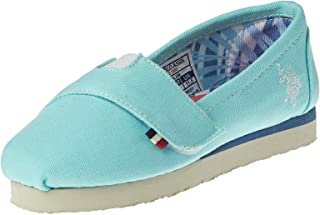 U.S. Polo Assn Turquoise Ballerina For Girls, Turquoise, Size 33 EU