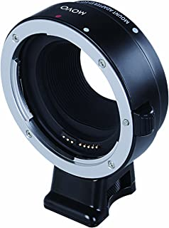 Movo Photo CTA-C Lens Adapter for Canon EF-M Mirrorless Cameras to fit Canon EOS EF, EF-S Lenses