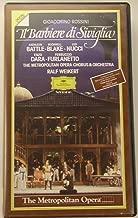 Rossini - Il barbiere di Seviglia The Barber of Seville Ralf Weikert, The Metropolitan Opera VHS