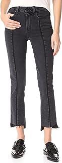 PAIGE Women's Vintage Julia Jeans with Uneven Hem