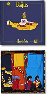 The Beatles Happy Socks Limited Edition Yellow Submarine 3 Pair EP Collector's Box Size 10-13US (41-46EU)