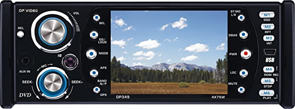 DP Video DP349 3.5-Inch DVD Receiver with USB/SD Card Inputs