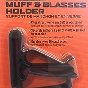 Glasses Rope Walker/'s Game Ear Walker/'s Belt Clip Holder for Ear Muffs Ect