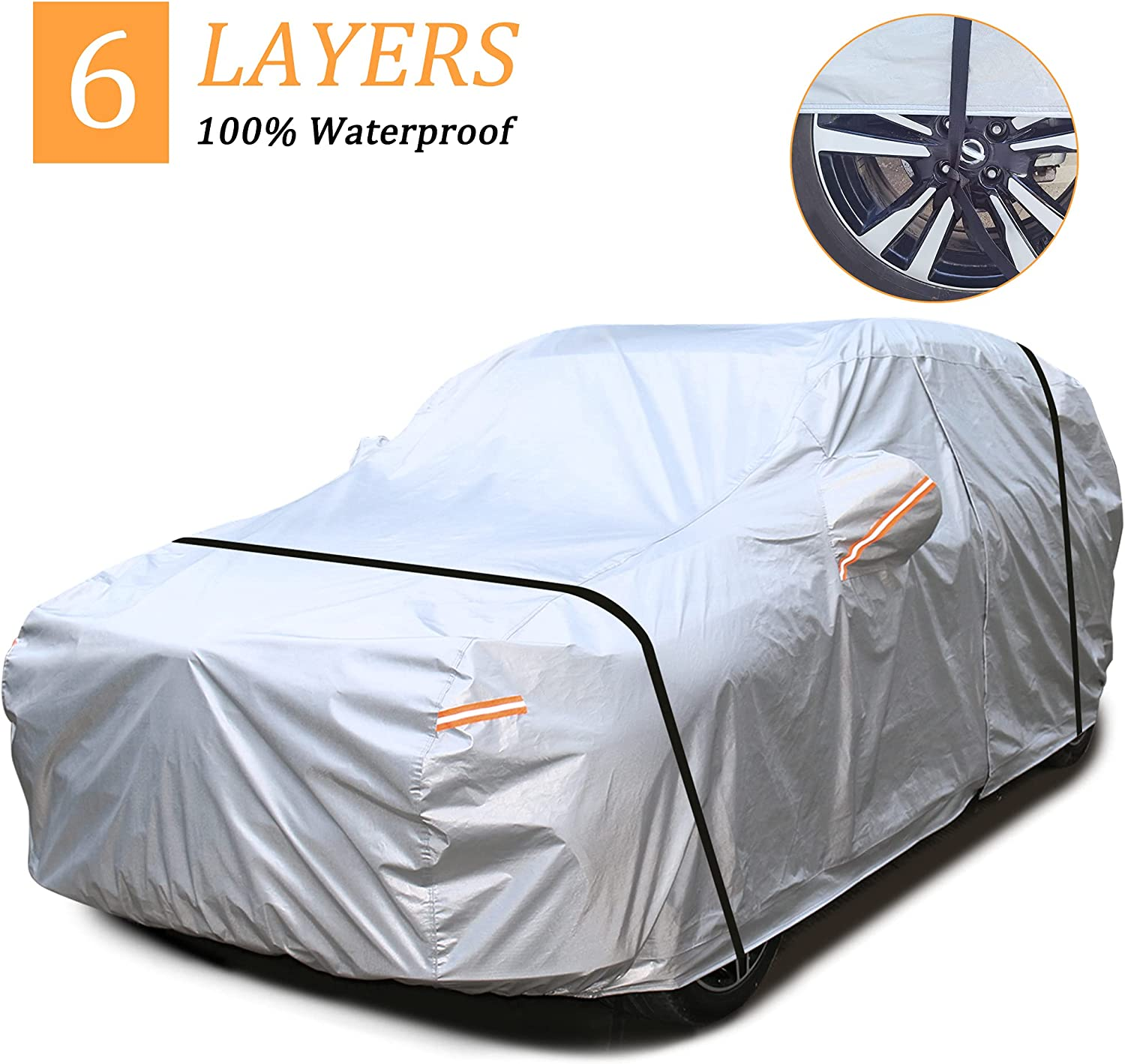 Andykuang SUV Car Cover NEW before selling for Waterproof All Automobiles Weather O New sales
