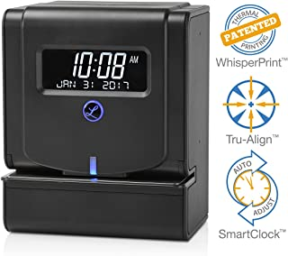 automated swipe card time clock system
