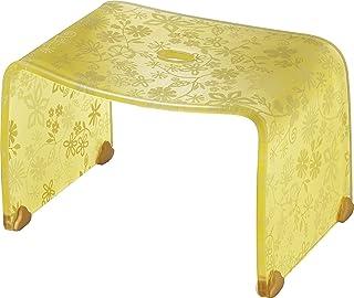 リス 『風呂椅子』 フィルロ バスチェア S イエローフラワー