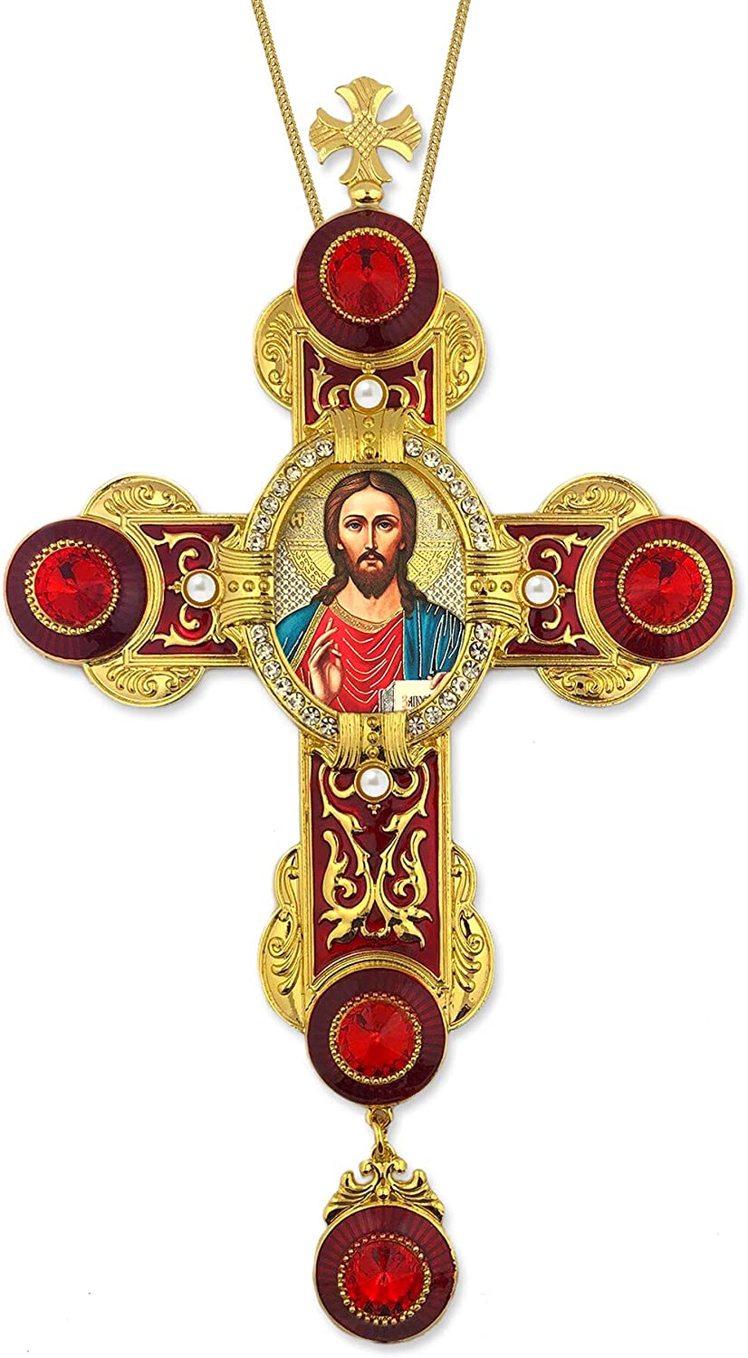Hail 67% OFF of fixed price Mary Special Campaign Gifts CR-9R-15 Christ The Icon Teacher Byzantine Style