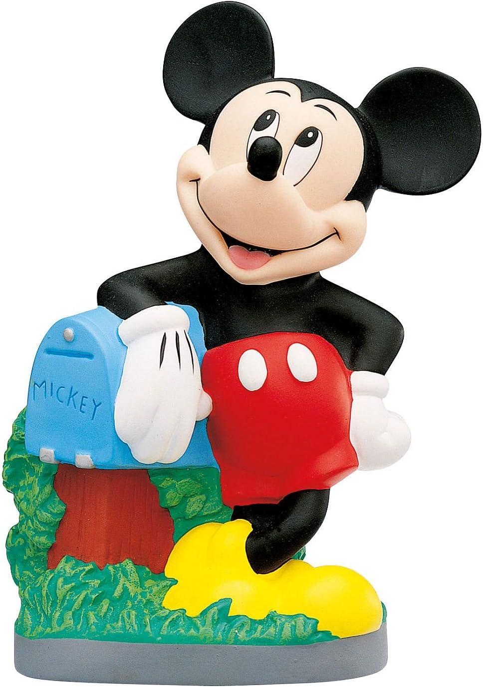 Bully Bullyland 15209-Hucha, Walt Disney Mickey Mouse, aprox. 23 cm de altura, un gran regalo niñas, ideal para el ahorro y el dinero de bolsillo, color colorido (15209)