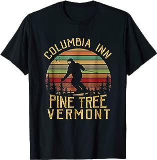 Columbia Inn Pine Tree Vermont Shirt