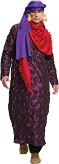 Men's Zoolander 2 Hansel's Gold and Purple Costume and Wig