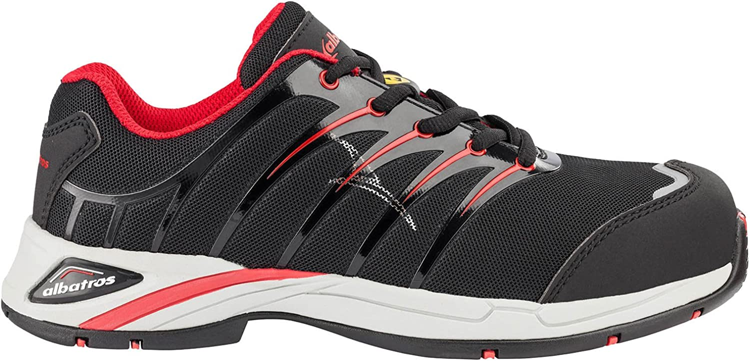 Albatros 645210-210-38 shoes Twist Red WNS , Size  5, black red