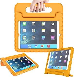 AVAWO Kids Case Compatible for iPad Mini 1 2 3 - Light Weight Shock Proof Handle Stand Kids Compatible for iPad Mini, iPad Mini 3rd Generation, iPad Mini 2 with Retina Display - Orange
