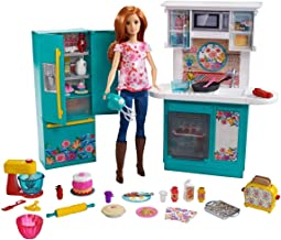 Barbie as Pioneer Woman with Ree Drummond Doll Kitchen Playset