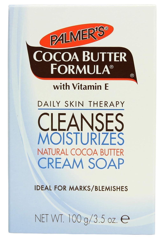 尋ねるダーベビルのテス有害Palmer's Cocoa Butter Formula Bar Soap 100g