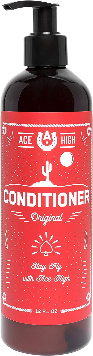 Ace High Men's Hair Conditioner Softens Max 56% OFF Promotes and Hydrates OFFicial mail order