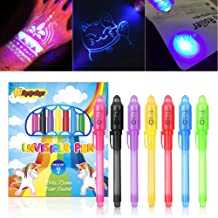 UV-Geheimstifte UV Licht Lampe Geldprüfer Zauberstift mit Lampe Spickzettel