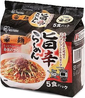 アイリスオーヤマ 豪麺 旨辛らーめん 30食セット 5食 ×6袋 レンジ調理可 ×30食