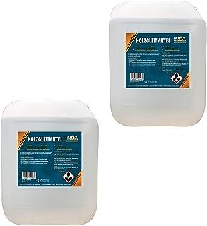 INOX® 2 x 5 l glidmedel i trä silikonfritt – glidmedel för träbearbetning på hyvelmaskin, fräsmaskin eller bordscirkelsåg