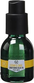 The Body Shop Cedar & Sage Conditioning Beard Oil For Men, 1 Fl Oz (Vegan)