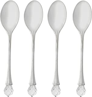 Elegance hostess spoon set, 4.5 inches, Silver