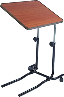 NRS Healthcare M01278 Overbed and Chair Table - Divan Style, Tilting and Adjustable