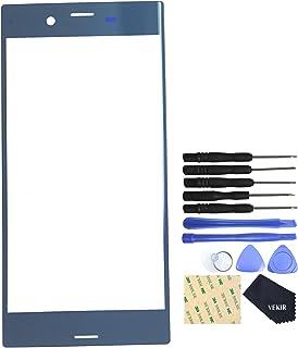 غطاء زجاجي F8332 أزرق غابي بديل لهاتف سوني إكسبيريا XZ F8331 SO-01J SOV34 601SO