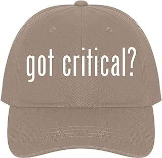 got Critical? - A Nice Comfortable Adjustable Dad Hat Cap