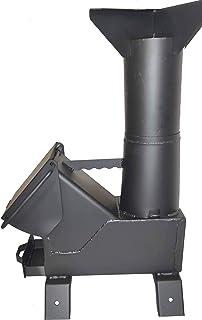 SHTFandGO Bullet Proof 50 BMG Gasification Rocket Stove Tent Heater