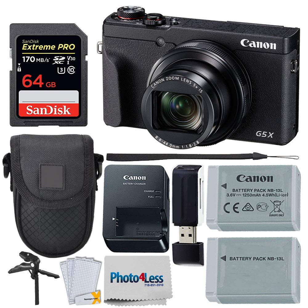 SX700 HS SX60 HS SX510 HS SX410 IS 45 MB//s, 300x SX520 HS G1 X,G15 SX600 HS G16 KIT w// Memory Card Wallet for Canon PowerShot G7 X Transcend 64GB High Speed Class 10 SD Memory Card SX50 HS D30, G1 X Mark II SX710 HS SX530 HS SX610 HS G1 X