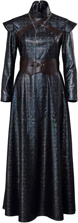 seguro de calidad Mujer Disfraz de CosJugar de Cersei Lannister Lannister Lannister Sansa Estrellak Halloween TV CosJugar Costume Dress Vestido Largo de Reina Medieval Conjunto Completo  ¡no ser extrañado!