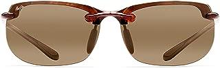 Maui Jim Sunglasses   Banyans 412   Rimless Frame, with Patented PolarizedPlus2 Lens Technology