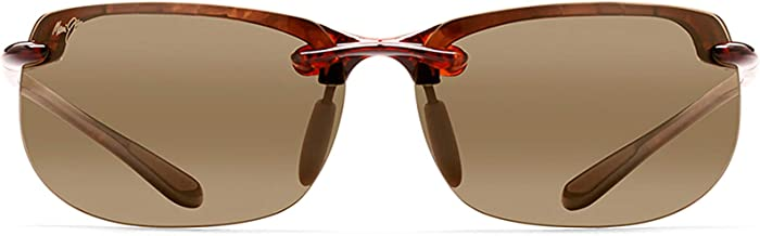 Maui Jim Sunglasses | Banyans 412 | Rimless Frame, with Patented PolarizedPlus2 Lens Technology